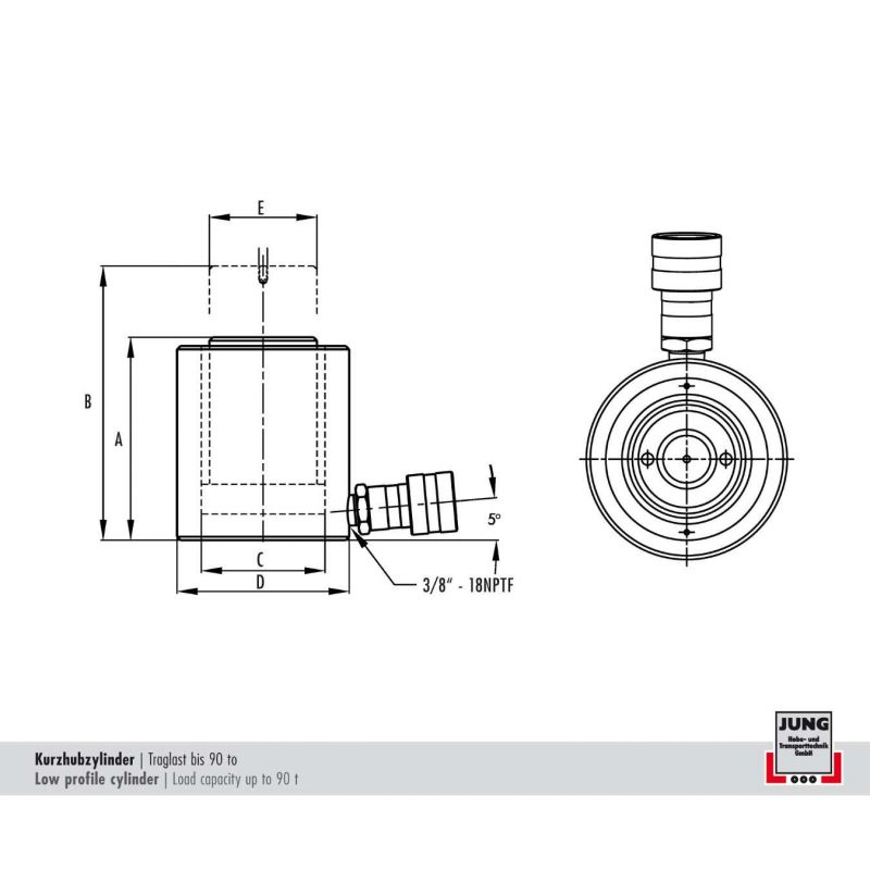 zeichnung_kurzhubzylinder